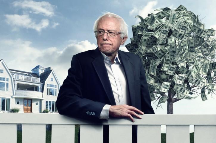 Washington – Politico Magazine Accused Of Anti-Semitism Over Bernie Sanders Illustration