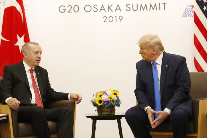 Ankara – Turkey's Erdogan Says 'never Possible' To Consider U.S. Plan For Middle East: NTV