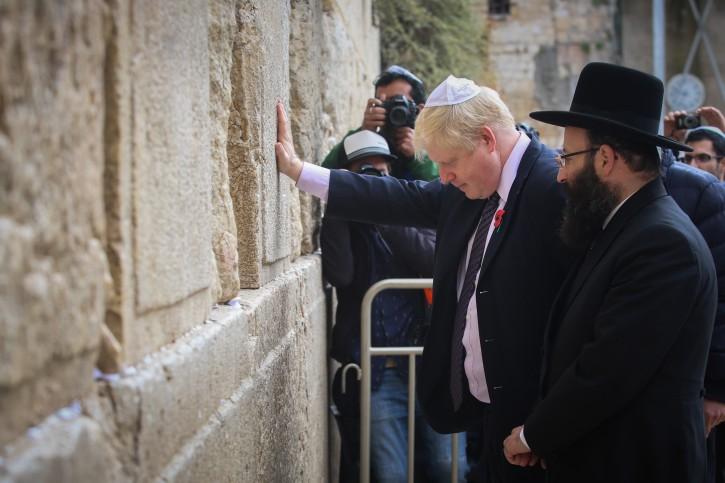 London – 5 Jewish Things To Know About Boris Johnson