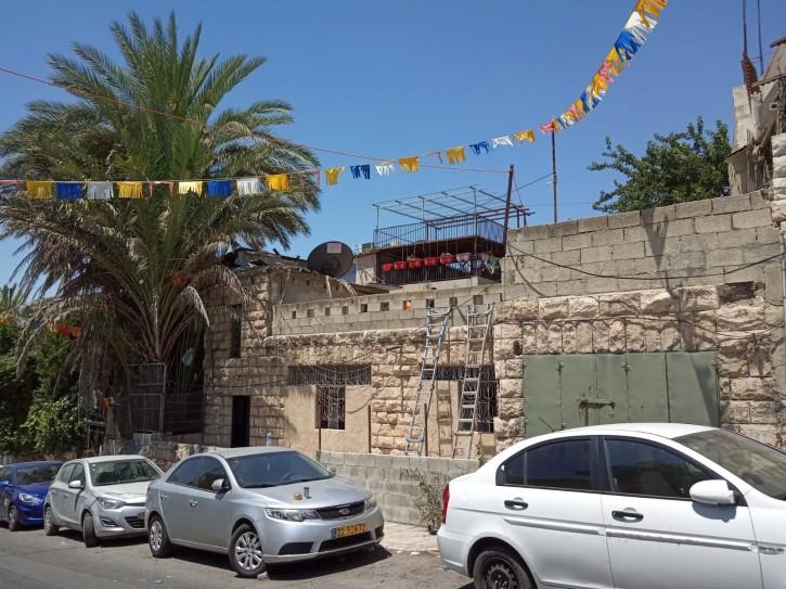 The home in Kfar Shiloach. (Mordechai Yoravski/TPS)