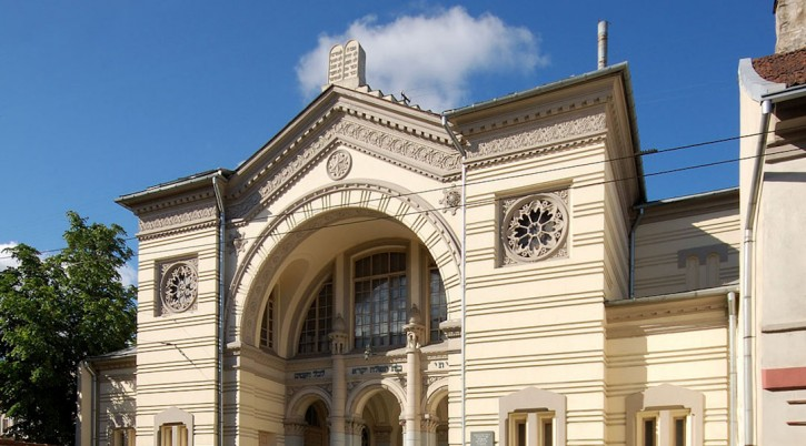 The Choral Synagogue in Vilnius, Lithuania. (Kontis Šatūnas/Wikimedia Commons)